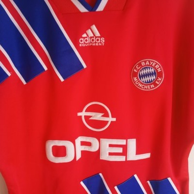 "Bayern Munich Home Shirt 1993-1995 (S) ""Very Good"""