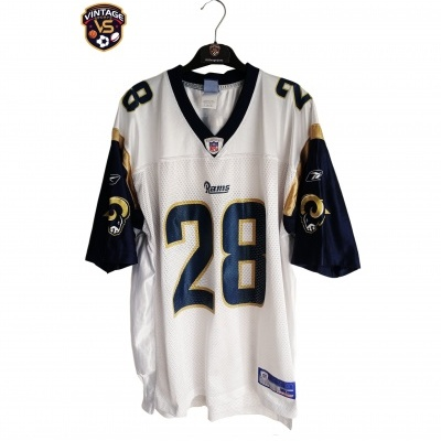"Los Angeles Rams NFL Jersey #28 Faulk (L) ""Good"""