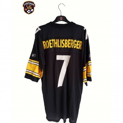 "Pittsburgh Steelers NFL Jersey #7 Roethlisberger (L) ""Good"""