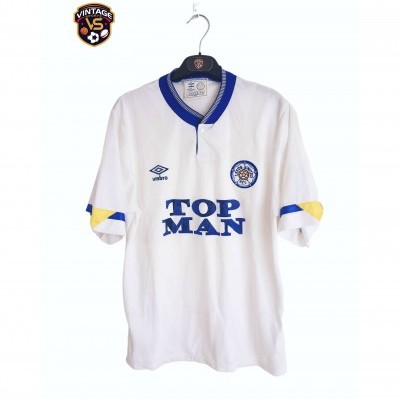 "Leeds United FC Home Shirt 1990-1991 (M) ""Good"""