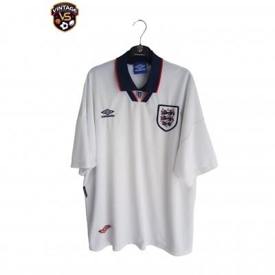 "England 1993-1995 Home Shirt (XXL) ""Very Good"""