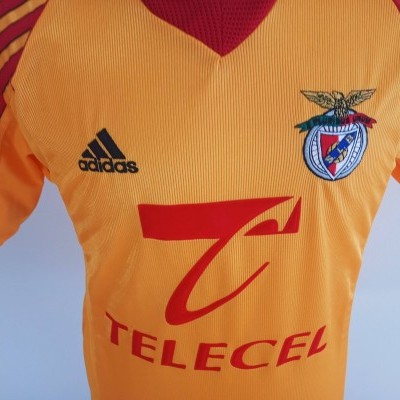"SL Benfica Away Shirt 1998-1999 (S) ""Very Good"""