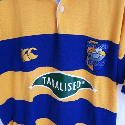 """Bay of Plenty Steamers Rugby Home Shirt 2001 New Zealand (L) """"Very Good"""""""