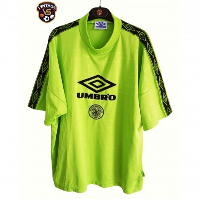 "Celtic Glasgow FC Training Shirt 1998-1999 (L) ""Very Good"""