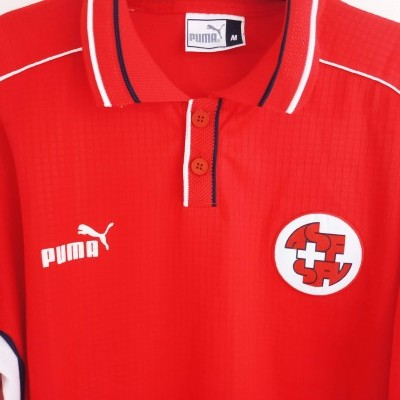 "Switzerland Home Shirt 1999-2000 (M) ""Good"""
