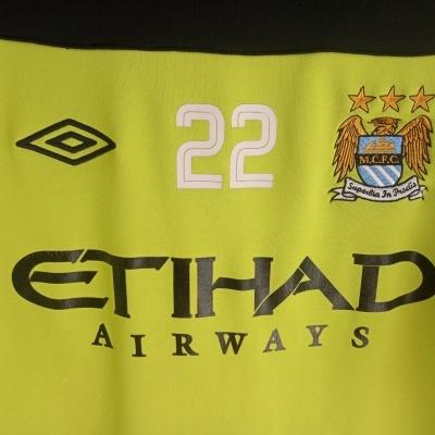"Issue Manchester City Training Sweatshirt 2011-2012 #22 Clichy (M) ""Good"""