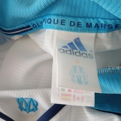 """OM Olympique Marseille Home Shirt 1999-2000 (S) """"Good"""""""