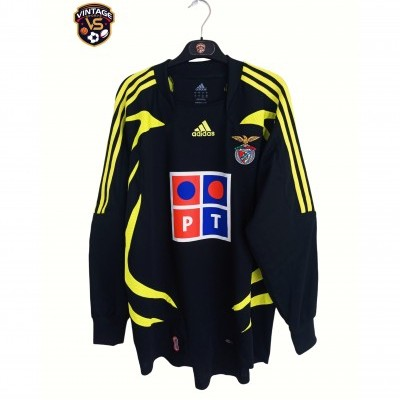 "SL Benfica Goalkeeper Shirt 2007-2008 (L) ""Perfect"""