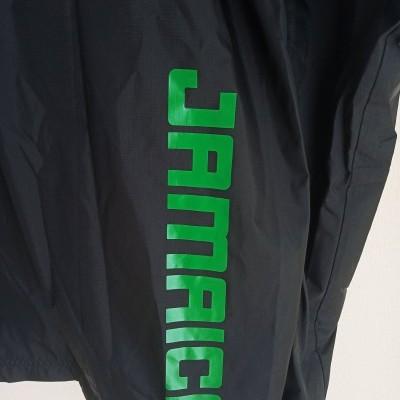 """Jamaica Windbreaker Rain Jacket Athletics (L) """"Very Good"""""""