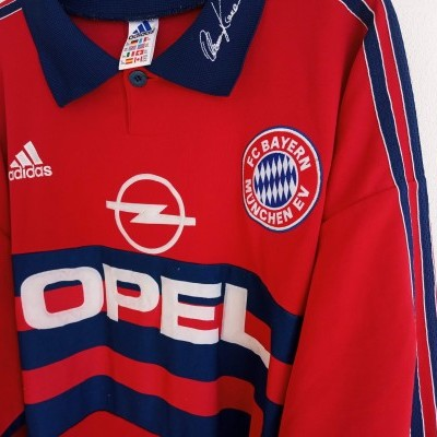"Bayern Munich Goalkeeper Shirt 1997-1999 #1 Kahn (XXL) ""Good"""