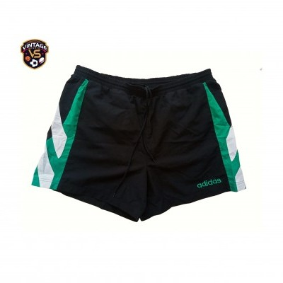"Vintage Shorts Adidas Black Green (L) ""Good"""