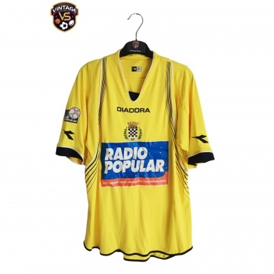 """Matchworn Boavista FC Away Shirt 2007-2008 #15 (XL) """"Good"""""""