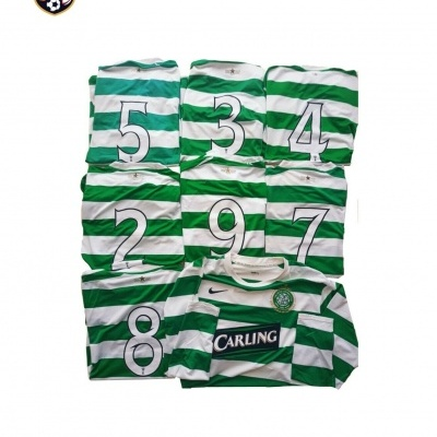 """Player Issue Celtic FC Home Shirt 2007-2008 #7 (L) """"Good"""""""