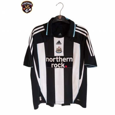 "Newcastle United Home Shirt 2007-2009 (M) ""Very Good"""
