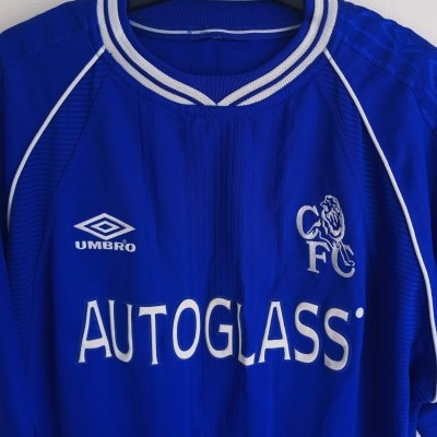 "Chelsea FC Home Shirt 1999-2001 (L) ""Very Good"""