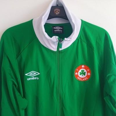 """Republic of Ireland Track Top Jacket (L) """"Perfect"""""""