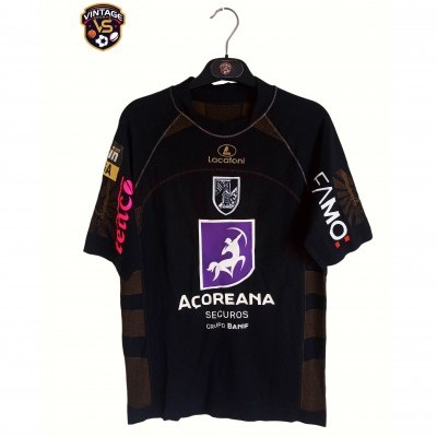 "Matchworn Vitoria Guimarães Third Shirt 2007 #8 Carlitos (M) ""Very Good"""