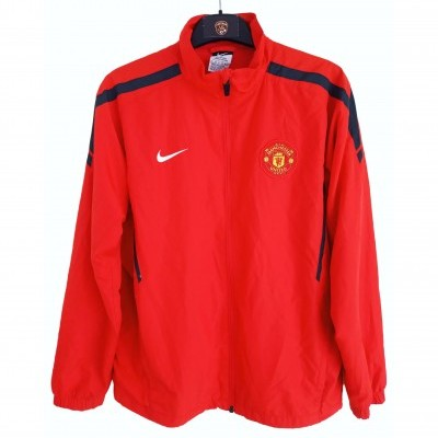 "Manchester United Tracksuit Top Jacket 2010-2011 (L Youths) ""Good"""