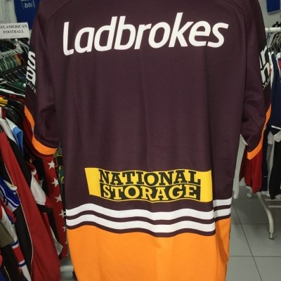 Brisbane Broncos Rugby Home Shirt 2017 (2XL) NRL