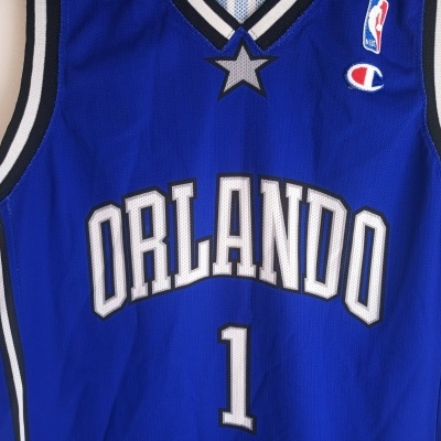 "Orlando Magic NBA Jersey #1 McGrady (L)""Very Good"""