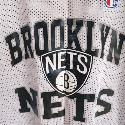 "Brooklyn Nets NBA Reversible Jersey (40) ""Good"""