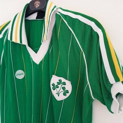 "Matchworn Republic of Ireland Home Shirt 1982 (M) ""Very Good"""