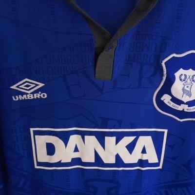 "Everton FC Home Shirt 1995-1997 (XL) ""Good"""