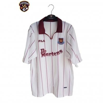 "West Ham United Away Shirt 2002-2003 (M) ""Very Good"""