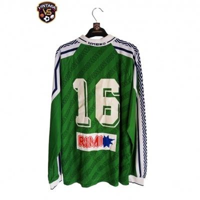 """Matchworn Erikslunds KF Home Shirt 1990s #16 (L) """"Very Good"""""""