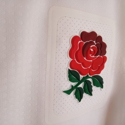 "England Rugby Home Shirt 2016-2017 (M) ""Very Good"""