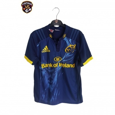 """Signed Munster Rugby Away Shirt 2017 (L Youths) """"Very Good"""""""