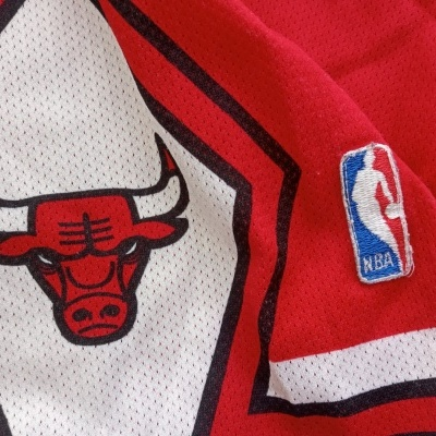 "Chicago Bulls NBA Shorts 1990s (L Youths) ""Good"""