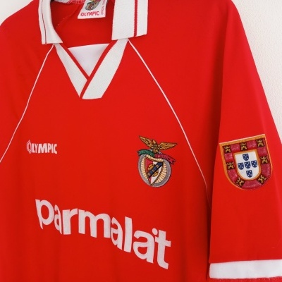 "SL Benfica Home Shirt 1994-1995 (L) ""Very Good"""