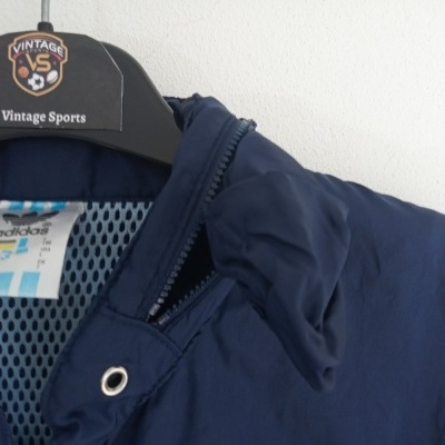 """Vintage Track Top Jacket Adidas Blue Yellow (L) """"Very Good"""""""