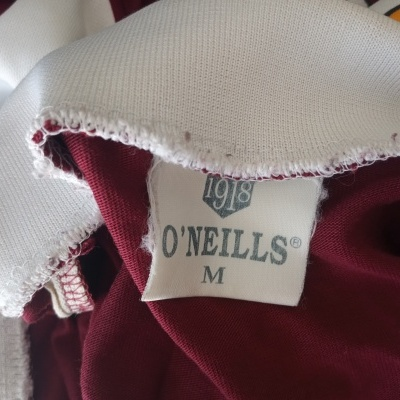 "Galway GAA Gaelic Shirt Jersey 2000 (M) ""Good"""