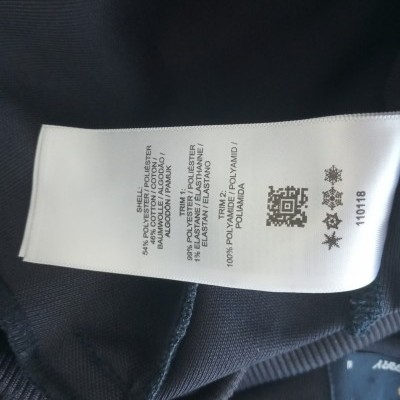 """Fred Perry Jacket Track Top Black White (M Youths) """"Very Good"""""""
