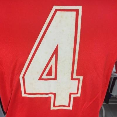 MATCHWORN Arsenal FC Home Shirt 1982-84 (M) #4 Brian Talbot
