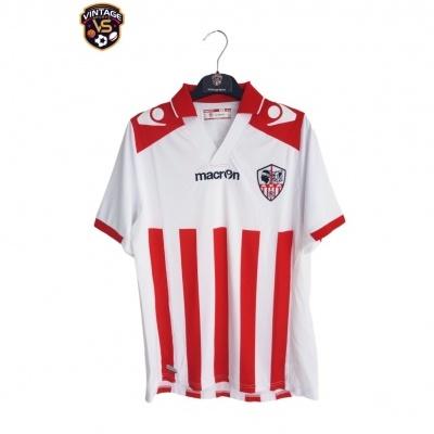 """AC Ajaccio Home Shirt 2014-2015 (S) """"Perfect"""""""
