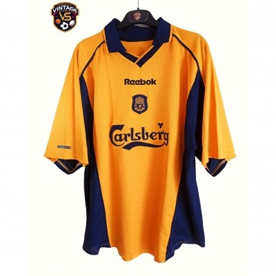 "Liverpool FC Away Shirt 2000-2002 (L) ""Very Good"""