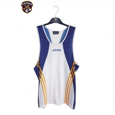 "Vintage Tank Vest Singlet Shirt Athletics Adidas (M) ""Good"""