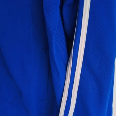 "Fred Perry Track Top Jacket Blue White (L) ""Very Good"""