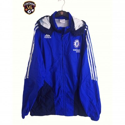 "Chelsea FC Rain Coat Jacket 2007-2008 (XL) ""Very Good"""