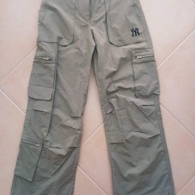 NEW New York Yankees Baseball Cargo Trousers MLB (10 Womens)