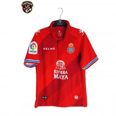 "RCD Espanyol Barcelona Away Shirt 2018-2019 (S) ""Perfect"""