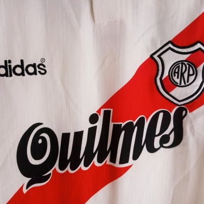 "River Plate Home Shirt 1995-1996 (XL) ""Very Good"""
