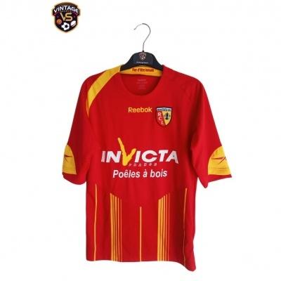 """RC Lens Home Shirt 2009-2010 (XS) """"Very Good"""""""