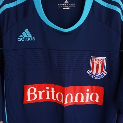"""Stoke City FC Away Shirt 2010-2011 Player Issue (XL) """"Very Good"""""""