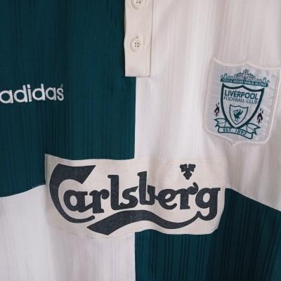 "Liverpool FC Away Shirt 1995-1996 (XL) ""Very Good"""