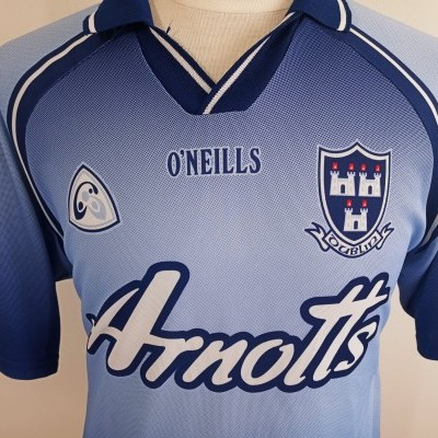 "Vintage Dublin GAA Gaelic Shirt (L) ""Very Good"""