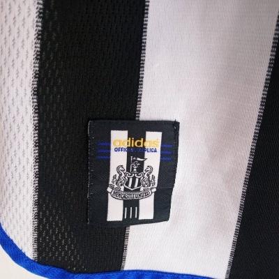"Newcastle United Home Shirt 1999-2001 (L) ""Very Good"""
